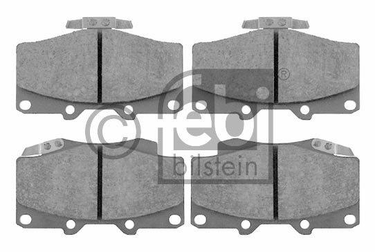 Kit de plaquettes de frein, frein à disque - FEBI BILSTEIN - 16537