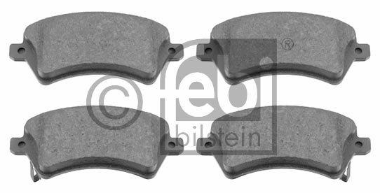 Kit de plaquettes de frein, frein à disque - FEBI BILSTEIN - 16539
