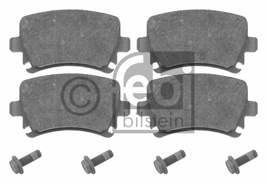 Kit de plaquettes de frein, frein à disque - FEBI BILSTEIN - 16540