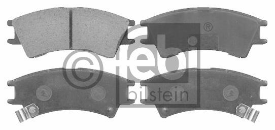 Kit de plaquettes de frein, frein à disque - FEBI BILSTEIN - 16541