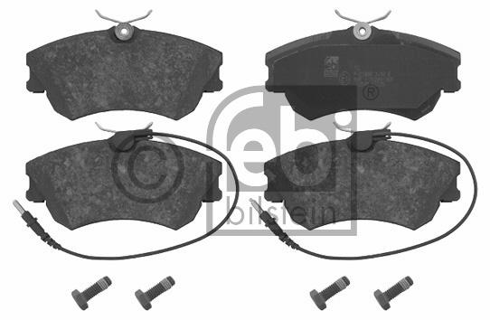 Kit de plaquettes de frein, frein à disque - FEBI BILSTEIN - 16543
