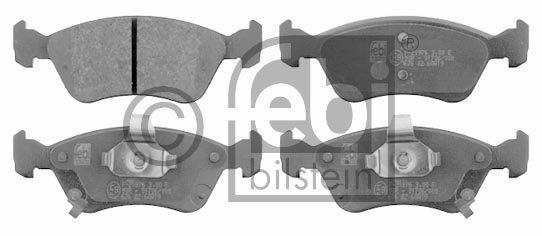 Kit de plaquettes de frein, frein à disque - FEBI BILSTEIN - 16544