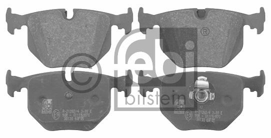 Kit de plaquettes de frein, frein à disque - FEBI BILSTEIN - 16549
