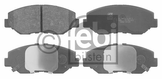Kit de plaquettes de frein, frein à disque - FEBI BILSTEIN - 16552