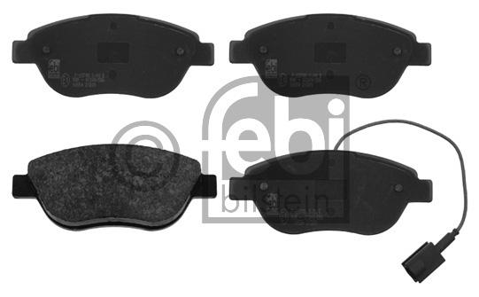 Kit de plaquettes de frein, frein à disque - FEBI BILSTEIN - 16554