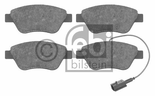 Kit de plaquettes de frein, frein à disque - FEBI BILSTEIN - 16555
