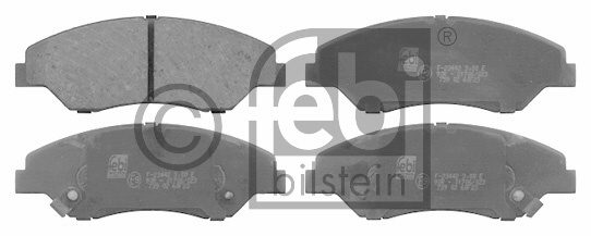 Kit de plaquettes de frein, frein à disque - FEBI BILSTEIN - 16557