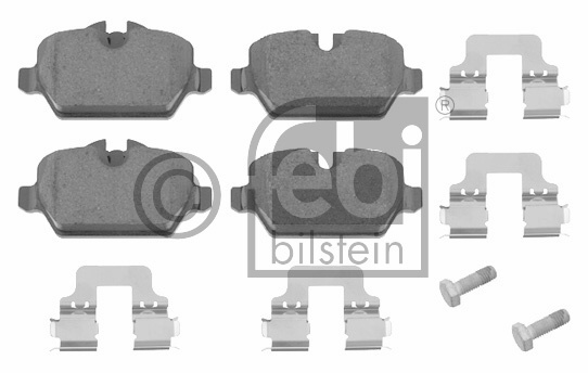 Kit de plaquettes de frein, frein à disque - FEBI BILSTEIN - 16560