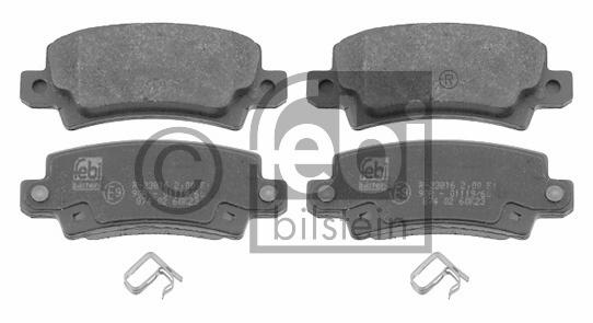 Kit de plaquettes de frein, frein à disque - FEBI BILSTEIN - 16577