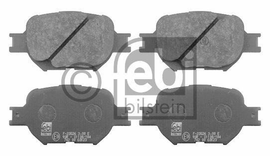Kit de plaquettes de frein, frein à disque - FEBI BILSTEIN - 16578