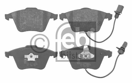 Kit de plaquettes de frein, frein à disque - FEBI BILSTEIN - 16584