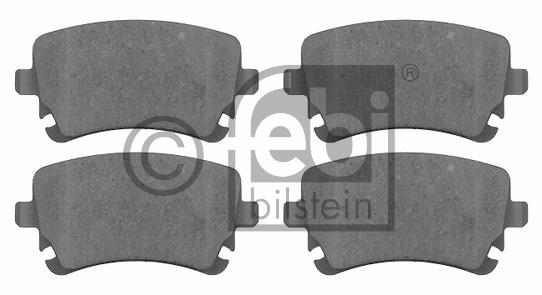 Kit de plaquettes de frein, frein à disque - FEBI BILSTEIN - 16588