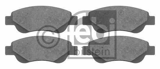 Kit de plaquettes de frein, frein à disque - FEBI BILSTEIN - 16589