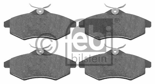 Kit de plaquettes de frein, frein à disque - FEBI BILSTEIN - 16590