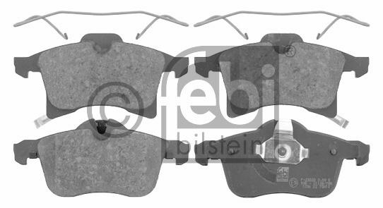 Kit de plaquettes de frein, frein à disque - FEBI BILSTEIN - 16603