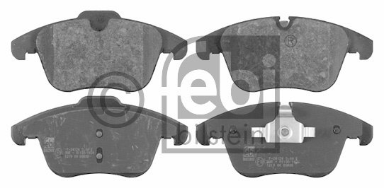 Kit de plaquettes de frein, frein à disque - FEBI BILSTEIN - 16613
