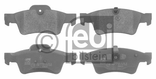 Kit de plaquettes de frein, frein à disque - FEBI BILSTEIN - 16615