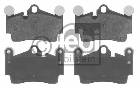 Kit de plaquettes de frein, frein à disque - FEBI BILSTEIN - 16619