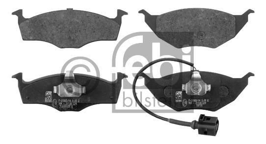 Kit de plaquettes de frein, frein à disque - FEBI BILSTEIN - 16620