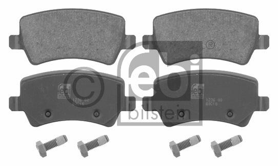 Kit de plaquettes de frein, frein à disque - FEBI BILSTEIN - 16625