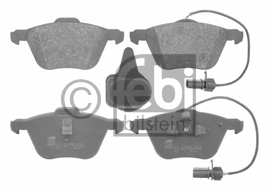 Kit de plaquettes de frein, frein à disque - FEBI BILSTEIN - 16629
