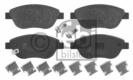Kit de plaquettes de frein, frein à disque - FEBI BILSTEIN - 16630