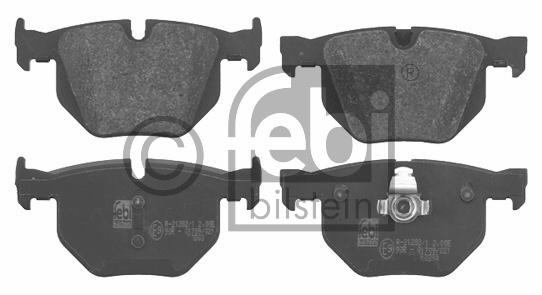 Kit de plaquettes de frein, frein à disque - FEBI BILSTEIN - 16633