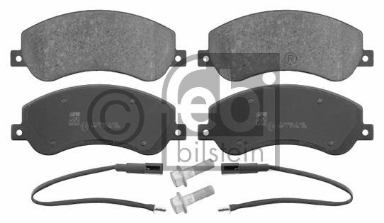 Kit de plaquettes de frein, frein à disque - FEBI BILSTEIN - 16637
