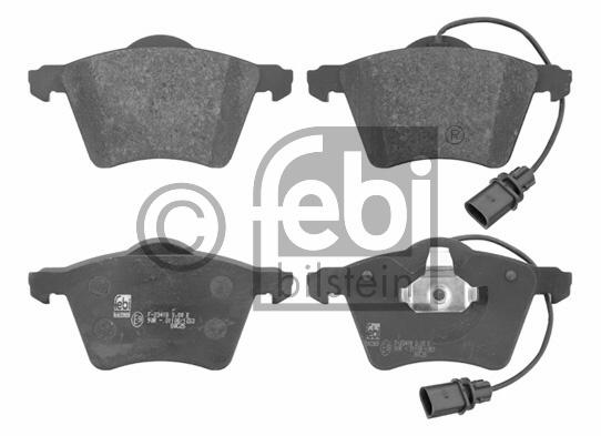 Kit de plaquettes de frein, frein à disque - FEBI BILSTEIN - 16640