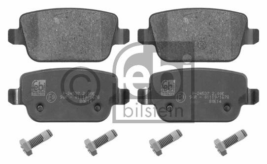 Kit de plaquettes de frein, frein à disque - FEBI BILSTEIN - 16642