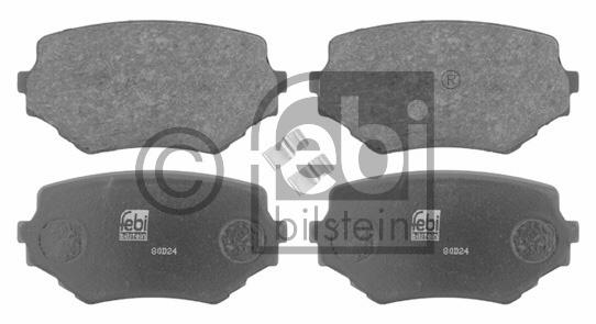Kit de plaquettes de frein, frein à disque - FEBI BILSTEIN - 16647