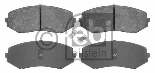 Kit de plaquettes de frein, frein à disque - FEBI BILSTEIN - 16648