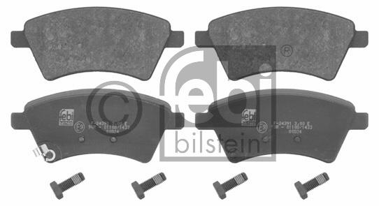 Kit de plaquettes de frein, frein à disque - FEBI BILSTEIN - 16658