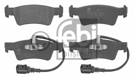 Kit de plaquettes de frein, frein à disque - FEBI BILSTEIN - 16669