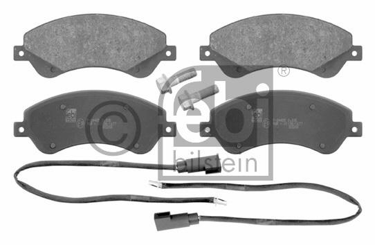 Kit de plaquettes de frein, frein à disque - FEBI BILSTEIN - 16673