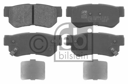 Kit de plaquettes de frein, frein à disque - FEBI BILSTEIN - 16675