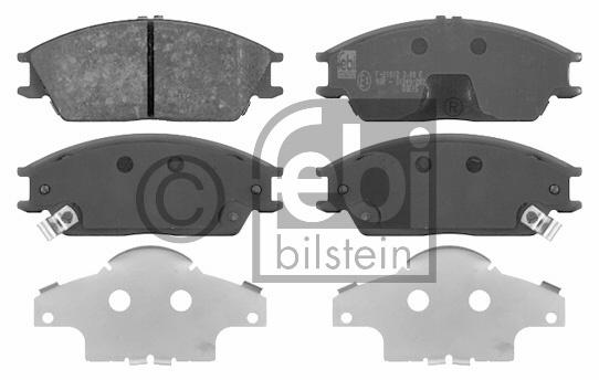 Kit de plaquettes de frein, frein à disque - FEBI BILSTEIN - 16683