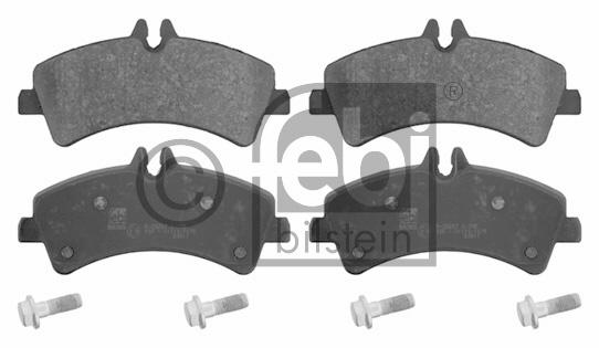 Kit de plaquettes de frein, frein à disque - FEBI BILSTEIN - 16709