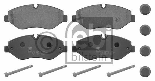 Kit de plaquettes de frein, frein à disque - FEBI BILSTEIN - 16710