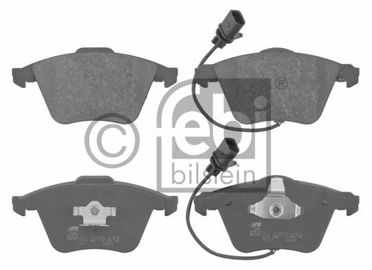 Kit de plaquettes de frein, frein à disque - FEBI BILSTEIN - 16712