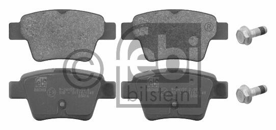 Kit de plaquettes de frein, frein à disque - FEBI BILSTEIN - 16715