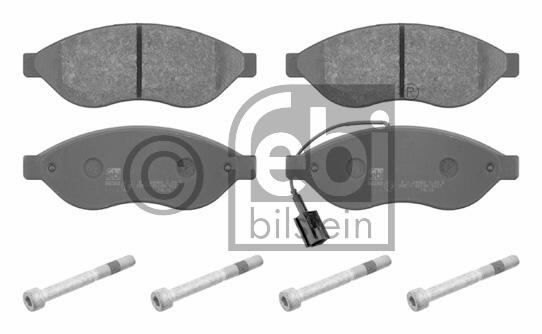 Kit de plaquettes de frein, frein à disque - FEBI BILSTEIN - 16716