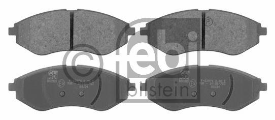 Kit de plaquettes de frein, frein à disque - FEBI BILSTEIN - 16721