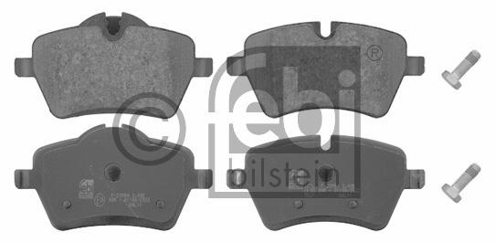 Kit de plaquettes de frein, frein à disque - FEBI BILSTEIN - 16727