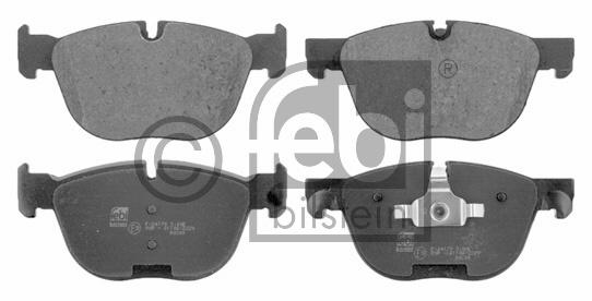 Kit de plaquettes de frein, frein à disque - FEBI BILSTEIN - 16729