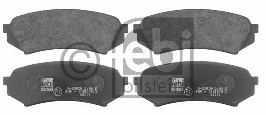 Kit de plaquettes de frein, frein à disque - FEBI BILSTEIN - 16731