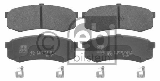 Kit de plaquettes de frein, frein à disque - FEBI BILSTEIN - 16732