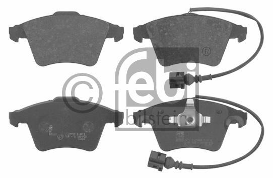 Kit de plaquettes de frein, frein à disque - FEBI BILSTEIN - 16733