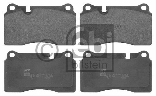 Kit de plaquettes de frein, frein à disque - FEBI BILSTEIN - 16734