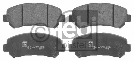 Kit de plaquettes de frein, frein à disque - FEBI BILSTEIN - 16738